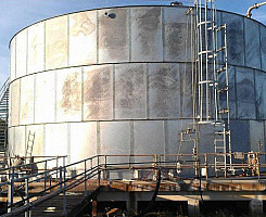 Kinder Morgan Salt Water Storage Facility