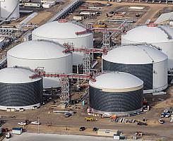 Export Terminal - LPG Tanks