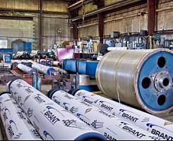 Instalación de Rodillos Industriales en Brantford