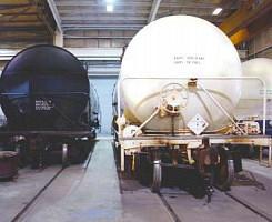 Inspección de Vagones y Servicios de NDT