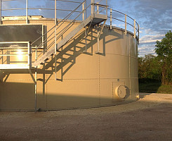 Industrial & Wastewater Storage Tanks