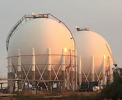 Spheres (ASME) - Spherical shaped storage