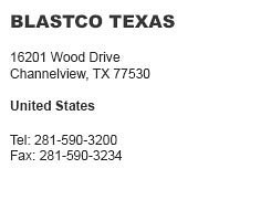 Blastco Texas Channelview