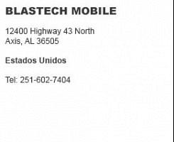 Blastech Mobile Axis