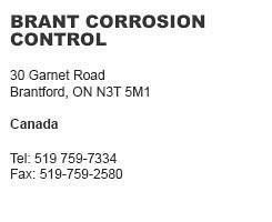 Brant Corrosion Control Canada