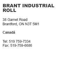 Brant Industrial Roll Canadá