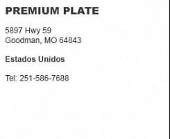 Premium Plate Goodman