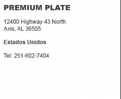 Premium Plate Axis