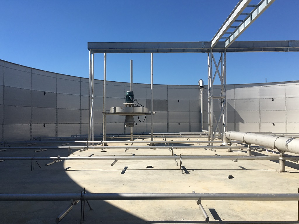 Wastewater Treatment Storage Tanks