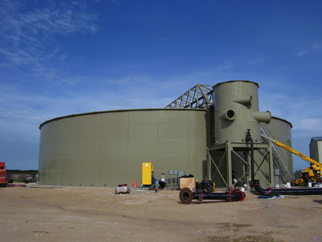 wastewater tanks