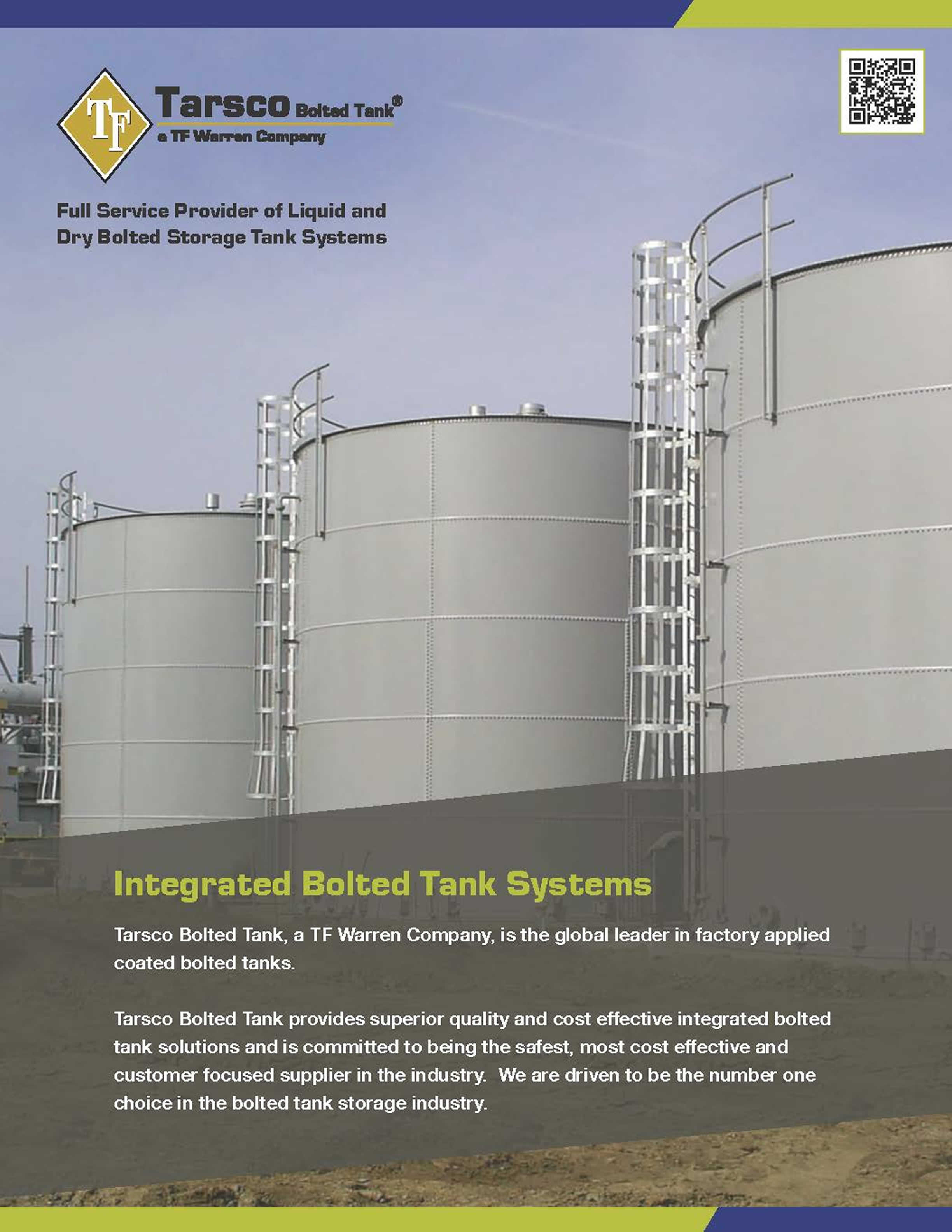 Integrated Bolted Tank Systems