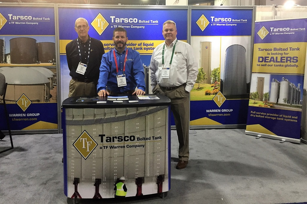 Tarsco Bolted Tank at the IPPE Show