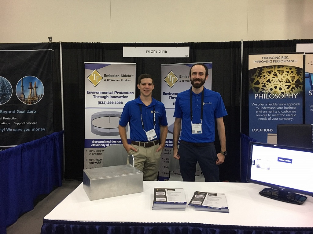 Sam Luedeker and Michael Flygare at the ILTA Show