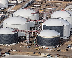 Export Terminal - LPG Tanks