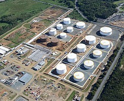 Bayamon - Seven diesel and Jet Fuel tanks